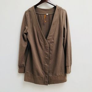 Anthropologie Saturday Sunday brown sweater size M